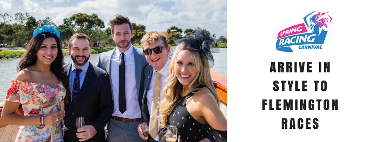 Transfers by Water Taxi to Flemington Races